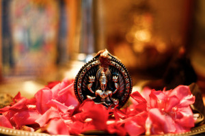 The goddess Lakshmi. Creative commons image by Natesh Ramasamy via Flickr
